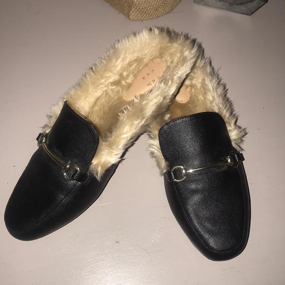 27909bbc90e Target faux fur loafers slides. M 5b143e84f63eea7e5fc2a4c1